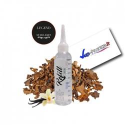 E-liquide francais tabac star Light legend refill de Roykin